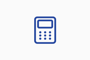 Animated calculator icon