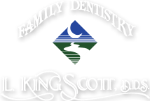 L King Scott DDS family dentistry logo